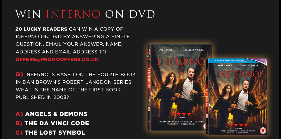 Inferno Claim Two Fabulous Free Booklets
